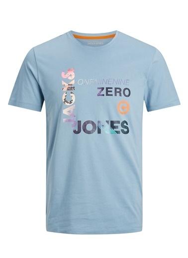 Jack & Jones Jack & Jones Erkek T-Shirt 12182616 Lacivert